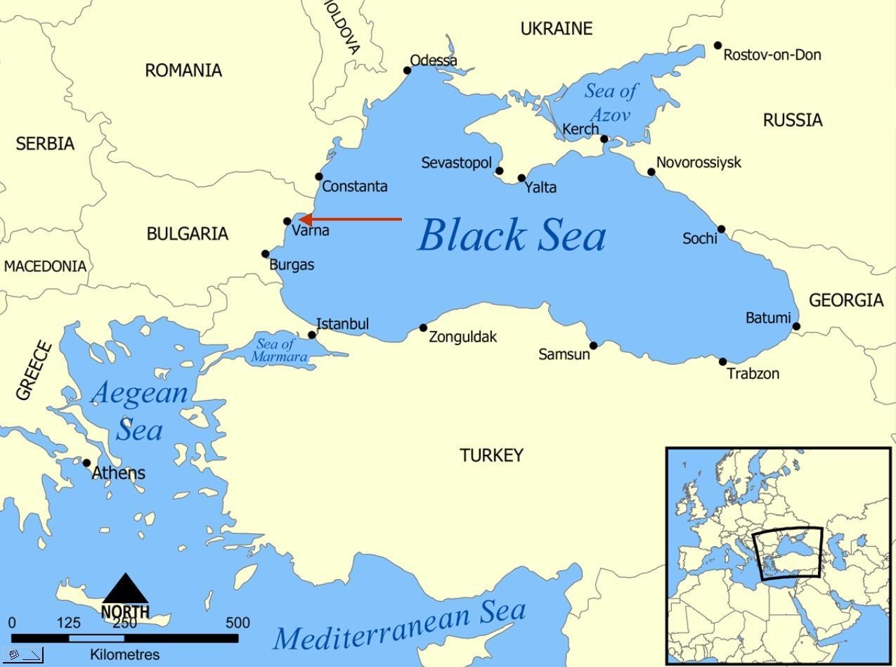 Bulgarie carte du monde